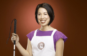 MASTERCHEF:  Christine Ha, a graduate student from Houston, TX, is one of the Top 18 on MASTERCHEF airing Monday, June 11 (9:00-10:00 PM ET/PT) on FOX. ©2012 Fox Broadcasting Co. CR: Greg Gayne/FOX