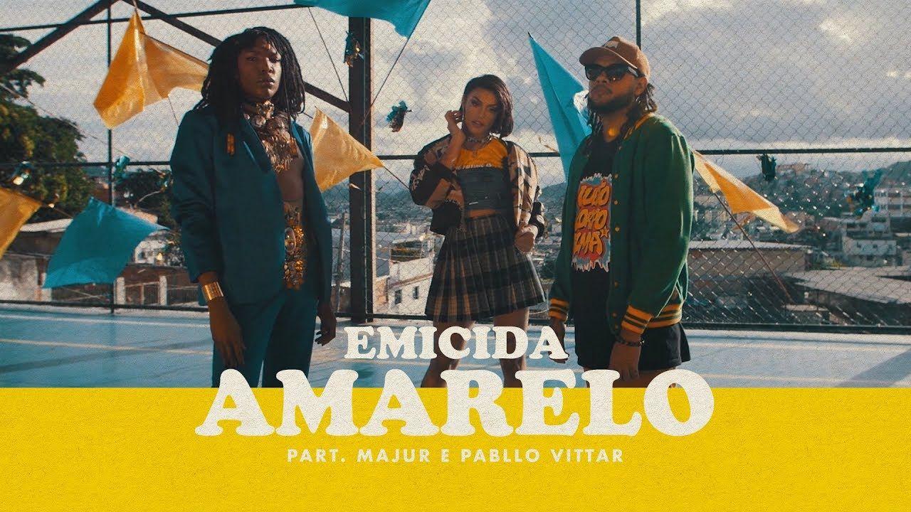 AmarElo: o incrível clipe de Emicida, Majur e Pabllo Vittar (com Belchior, de quebra)