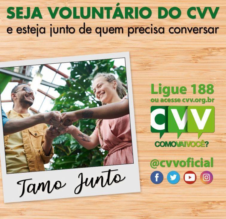 CVV São Caetano abre curso online e gratuito para novos voluntários