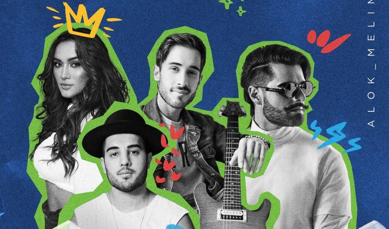 DJ Alok e grupo Melim vão lançar música para arrecadar doações